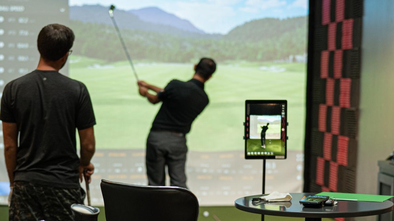 measuring golf ball speed
