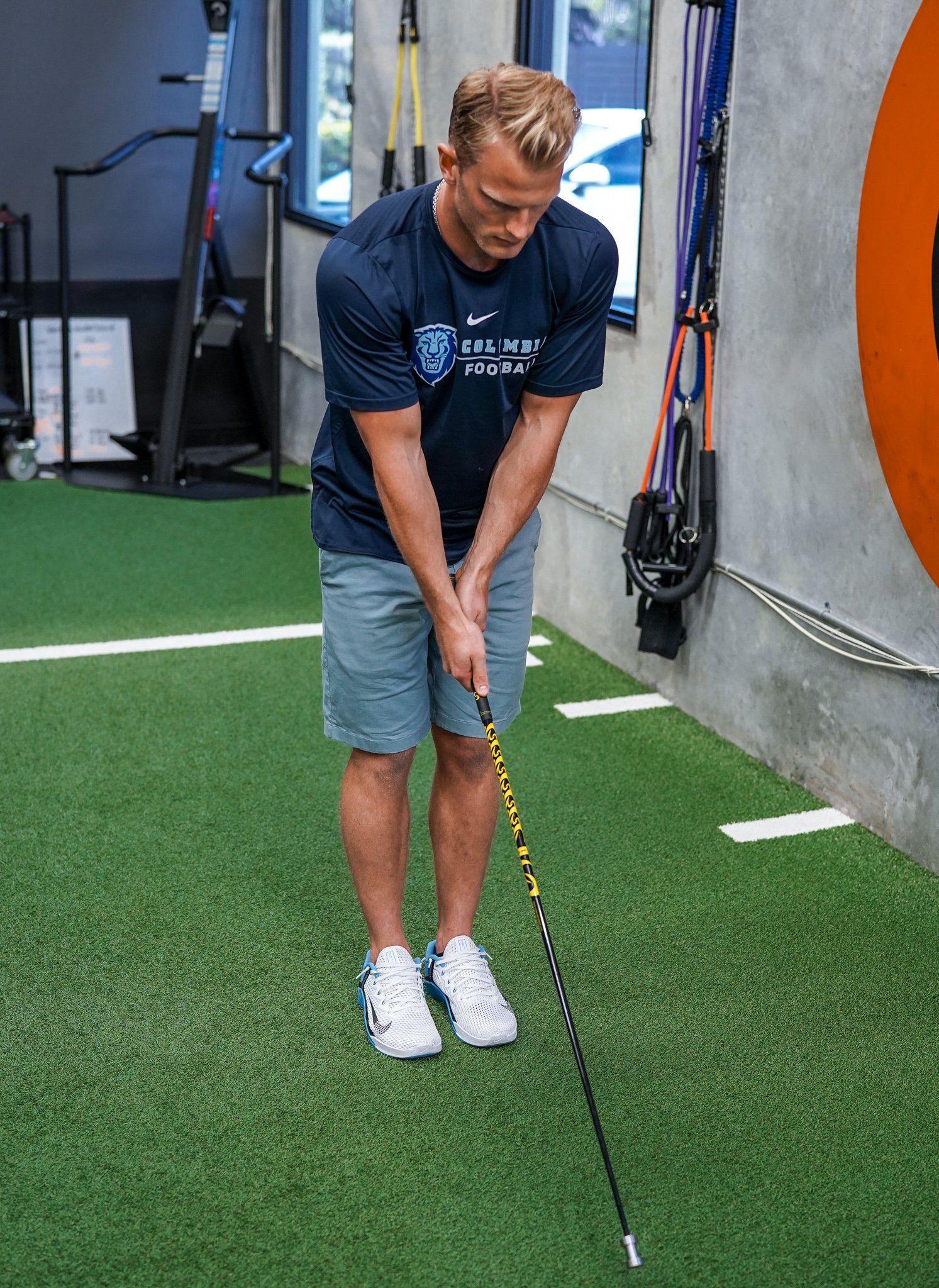 width and rotation golf drill